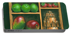 Fruit Shelf Portable Battery Charger by Brian James