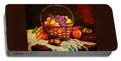 Fruit Wickerbasket Etc. Portable Battery Charger