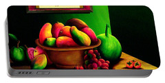 Fruits Still Life Portable Battery Charger