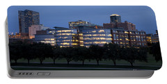 Ft. Worth Texas Skyline Portable Battery Charger