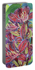 Full Blossom Orchid Tree Portable Battery Charger