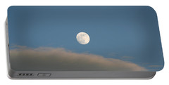 Portable Battery Charger featuring the photograph Full Moon by David S Reynolds