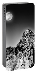 Full Moon Over The Suicide Rock Portable Battery Charger