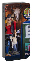 Full Service Route 66 Gas Station Portable Battery Charger