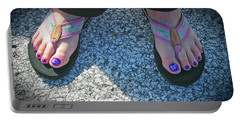 Fun Feet Portable Battery Charger