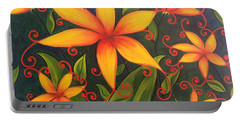 Fun Flowers Portable Battery Charger