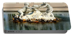 Portable Battery Charger featuring the photograph Fun On The Water by Mariola Bitner