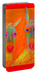Funky Donkeys Art Prints Portable Battery Charger