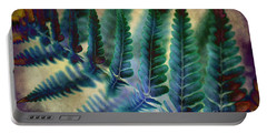 Funky Fern. Portable Battery Charger
