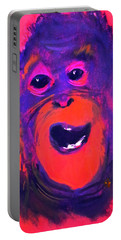 Funky Monkey Happy Chappy Portable Battery Charger