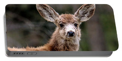 Fuzzy Fawn Portable Battery Charger