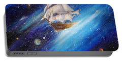 Galactic Traveler Portable Battery Charger