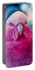 Galah - Eolophus Roseicapilla - Pink And Grey - Roseate Cockatoo Maui Hawaii Portable Battery Charger