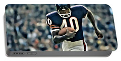 Gale Sayers Portable Battery Charger