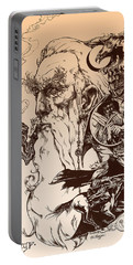 gandalf- Tolkien appreciation Portable Battery Charger