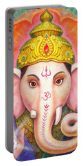 Ganesha's Blessing Portable Battery Charger