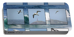 Gannets Galore Portable Battery Charger by Terri Waters