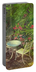 Garden Conversation Portable Battery Charger