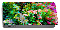 Garden Explosion Portable Battery Charger by Alys Caviness-Gober
