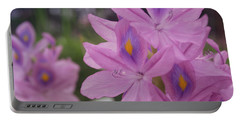 Garden Is Watching Portable Battery Charger by Miguel Winterpacht