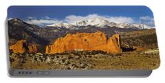 Garden Of The Gods - Colorado Springs Portable Battery Charger