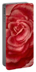Garden Rose Portable Battery Charger
