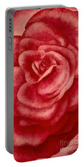 Garden Rose Portable Battery Charger