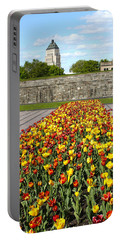 Tulip Garden In Canada 11 Portable Battery Charger