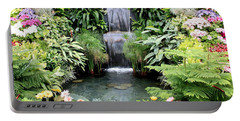Garden Waterfall Portable Battery Charger