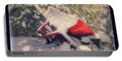 Gardener's Winter Dream Portable Battery Charger