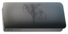 Garry Oak In Fog Portable Battery Charger