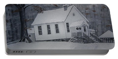 Gates Chapel - Ellijay - Signed By Artist Portable Battery Charger