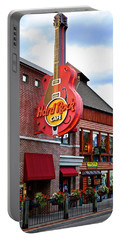 Gatlinburg Hard Rock Cafe Portable Battery Charger by Frozen in Time Fine Art Photography