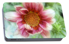 Portable Battery Charger featuring the photograph Treasure Flower Gazania by Louise Kumpf