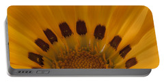 Gazania Stamen Macro Portable Battery Charger