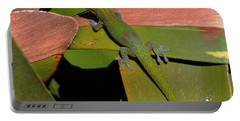 Gecko Portable Battery Charger by Pamela Walton