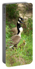 Geese And Gosling Portable Battery Charger