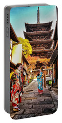 Geisha Temple Portable Battery Charger