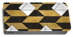 Geo Pattern II Portable Battery Charger