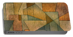 Geometric Abstraction Iv Portable Battery Charger