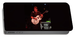 Portable Battery Charger featuring the photograph George Thorogood Performing by John Telfer