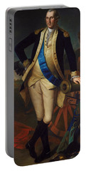 George Washington Portable Battery Charger by Charles Wilson Peale