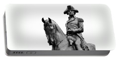 George Washington Statue Boston Ma Portable Battery Charger