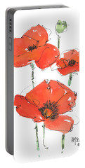 Georgetown Texas The Red Poppy Capital Portable Battery Charger