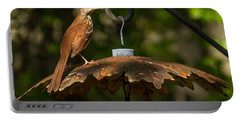 Georgia State Bird - Brown Thrasher Portable Battery Charger
