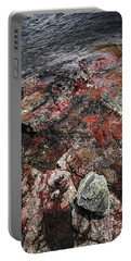 Georgian Bay Rocks Abstract IIi Portable Battery Charger
