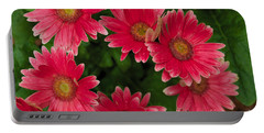Gerber Daisies Cluster Portable Battery Charger
