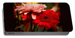 Portable Battery Charger featuring the photograph Gerbera Daisies by Patrice Zinck