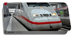 German Ice Intercity Bullet Train Munich Germany Portable Battery Charger