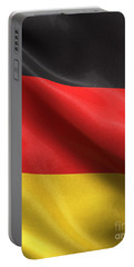 Portable Battery Charger featuring the photograph Germany Flag by Carsten Reisinger